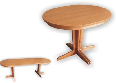Stół Jakub owalny laminat